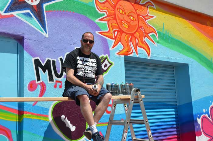 Summer of Love Mural Artist