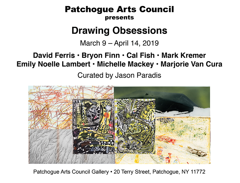 Drawing Obsessions @ the PAC Gallery