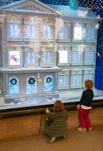 Window shopping for Christmas