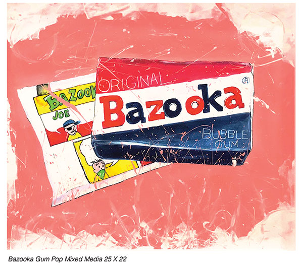 Bazooka Gum Drop by LuAnn Thompson